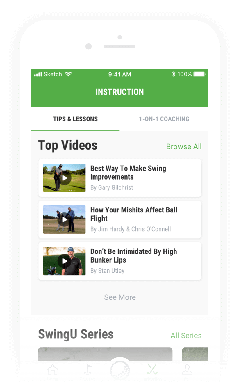 Golf Instruction Video Library