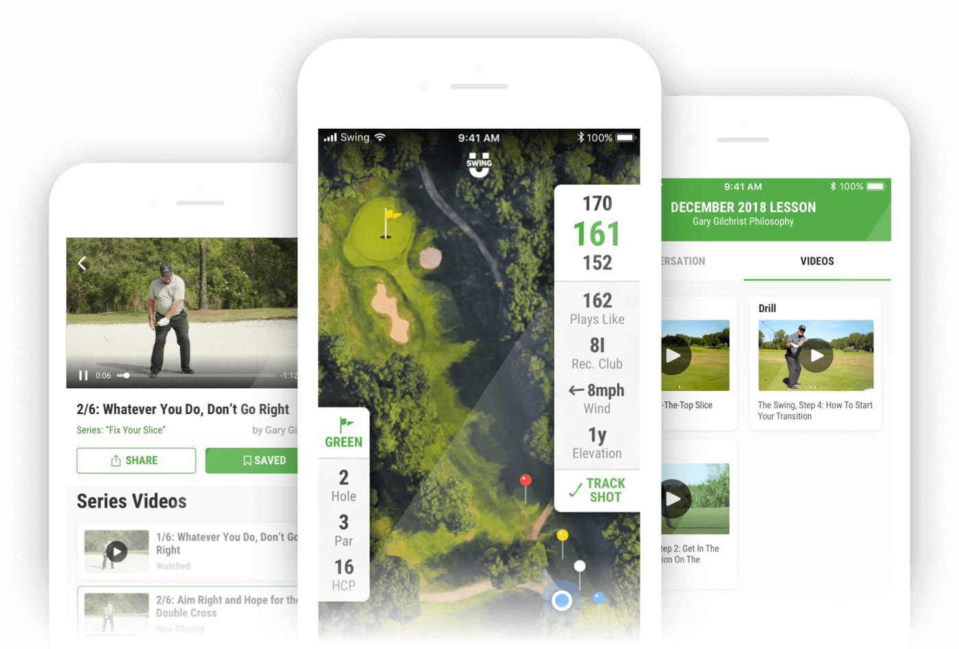 Golf GPS APP & Rangefinder by SwingU