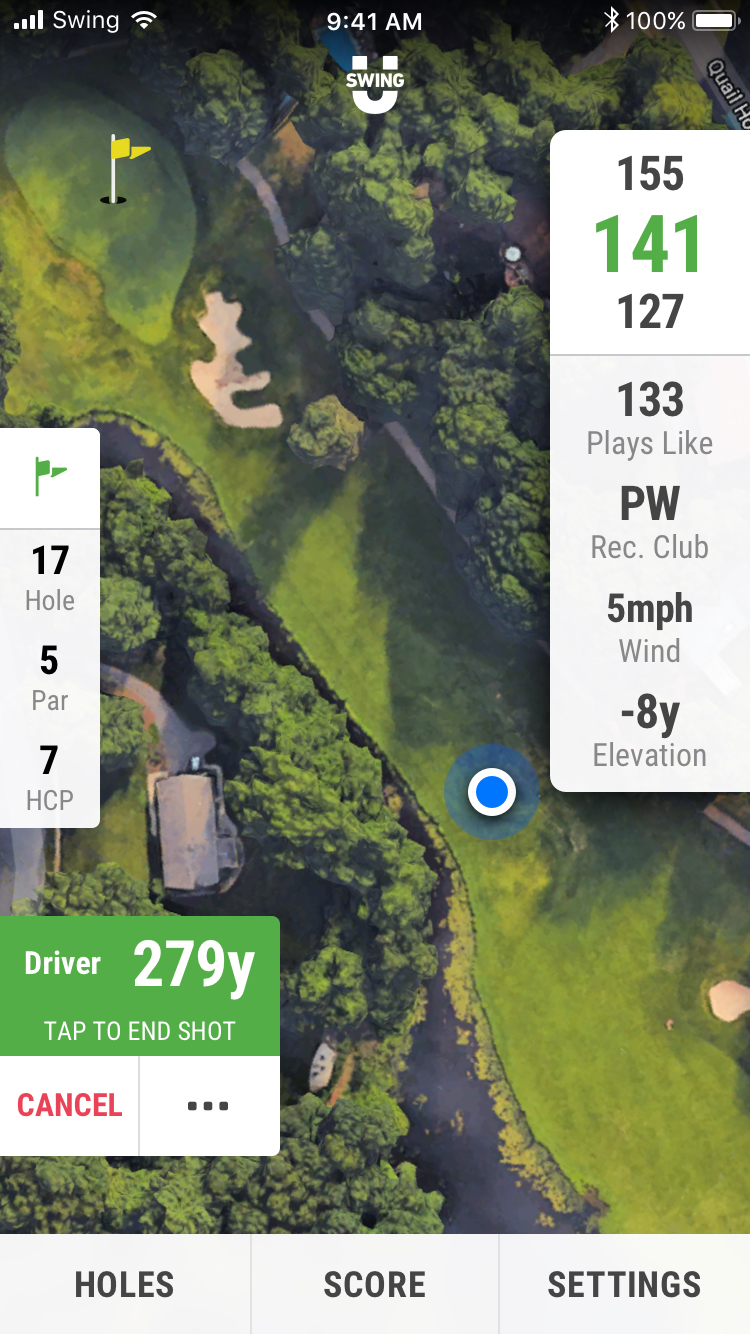 SwingU - Screenshot - Track Your Golf Shots