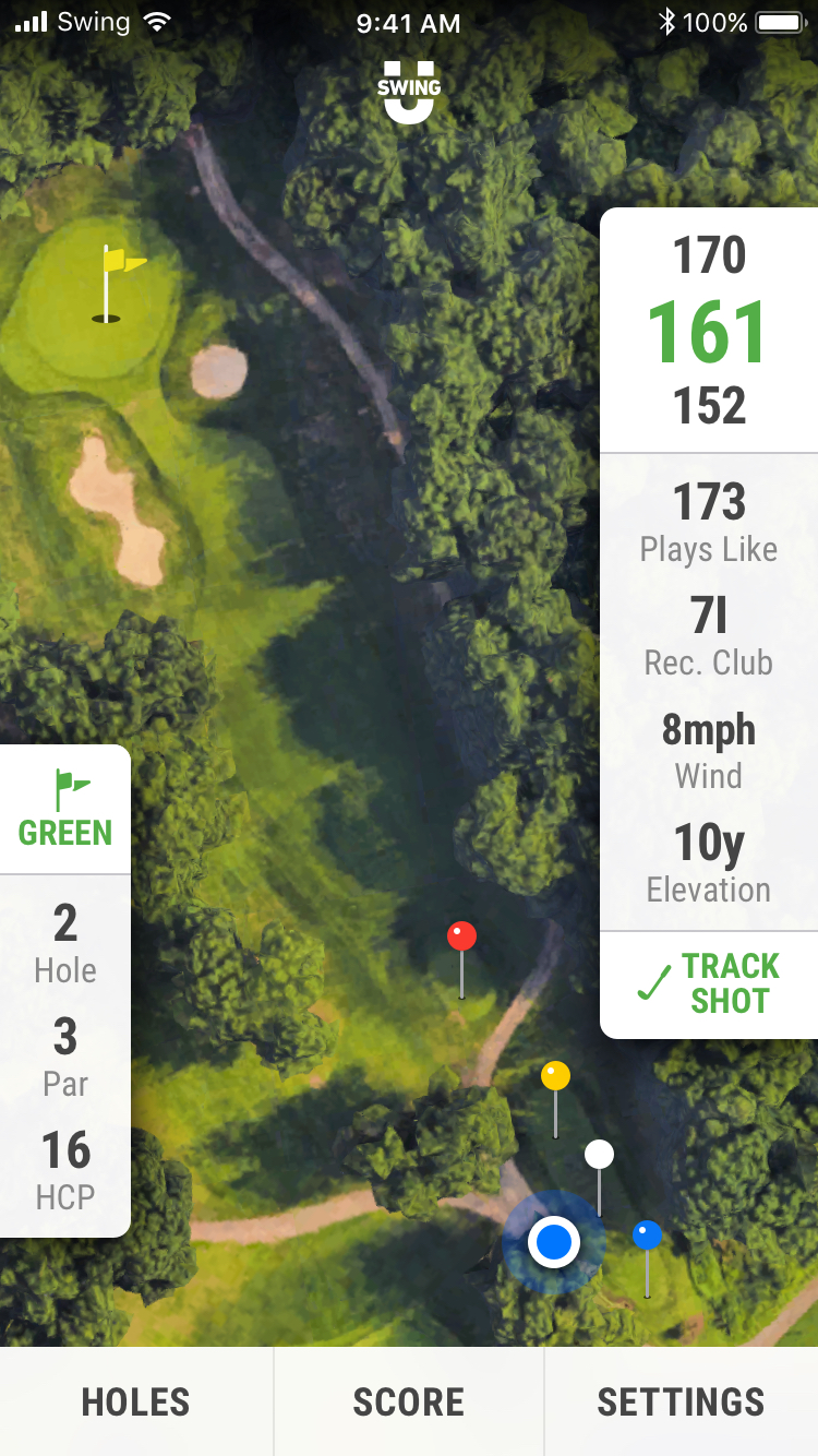 SwingU - Screenshot - SwingU App GPS