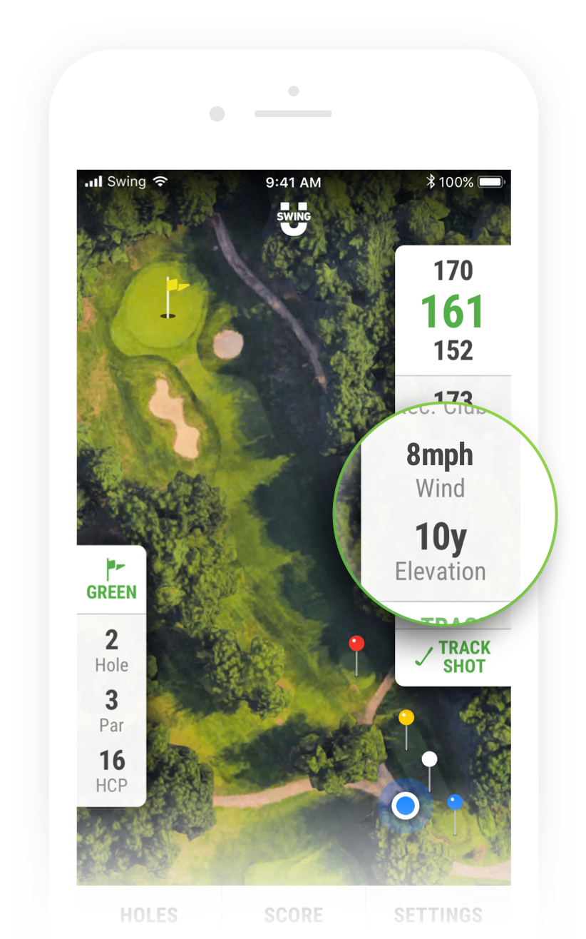 Golf Wind Speed & Elevation