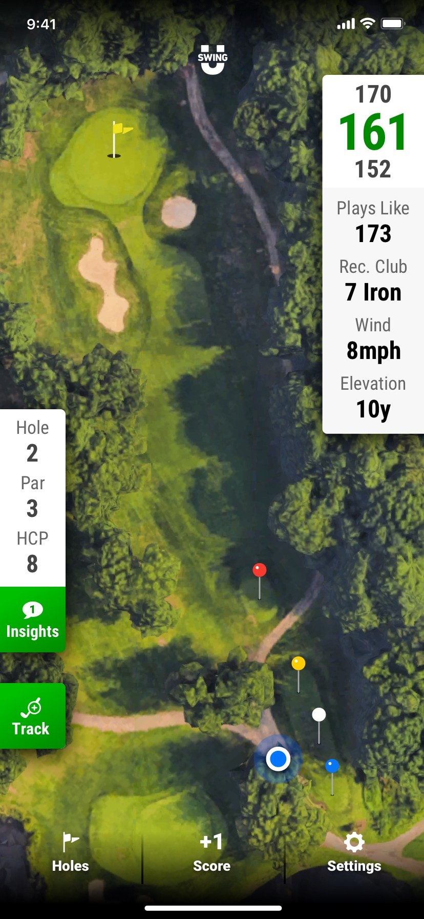 SwingU - Screenshot - SwingU - Golf GPS