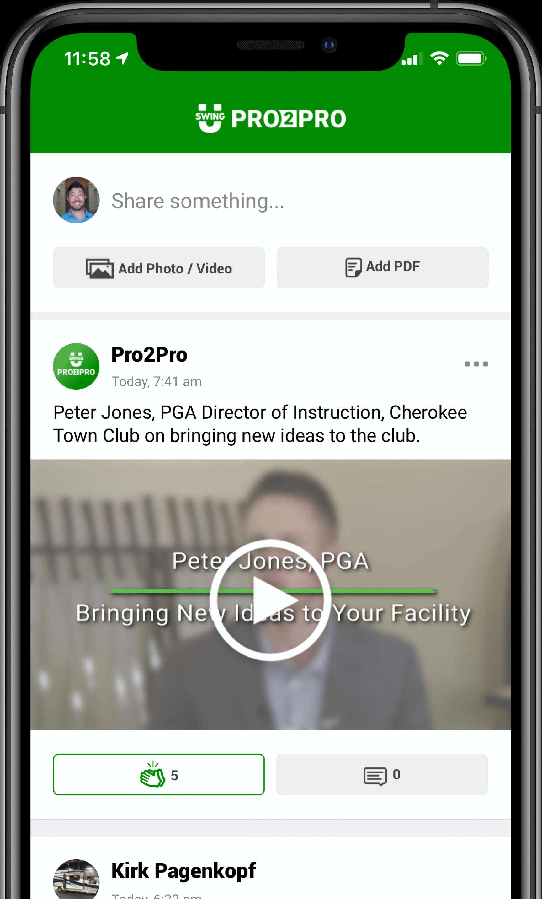 SwingU Pro2Pro Forum