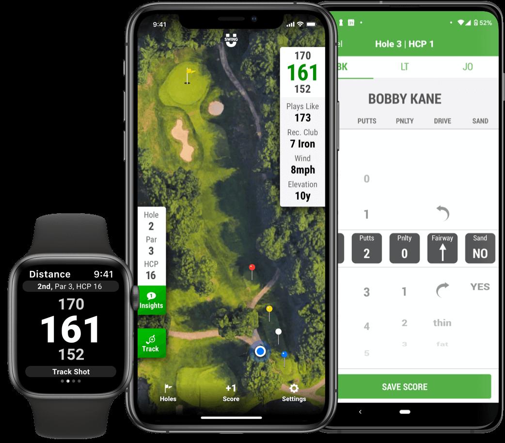 Golf GPS, Scorecard, Stats, Instruction - SwingU