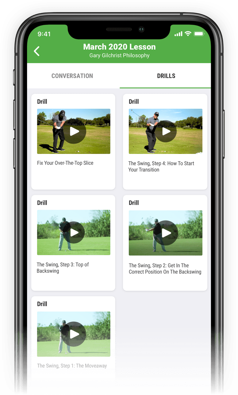 SwingU Golf GPS - 1-on-1 Training
