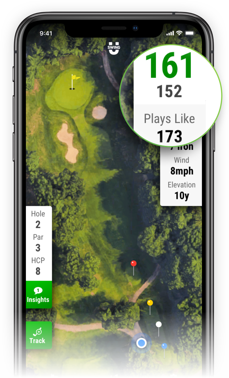 SwingU Golf GPS - Plays Like