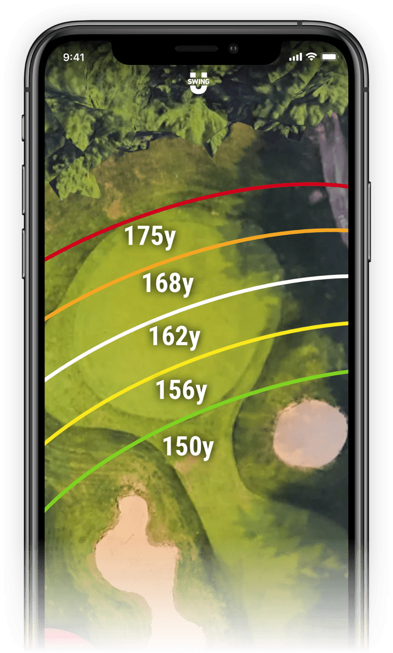SwingU Golf GPS - Zoom-In Green