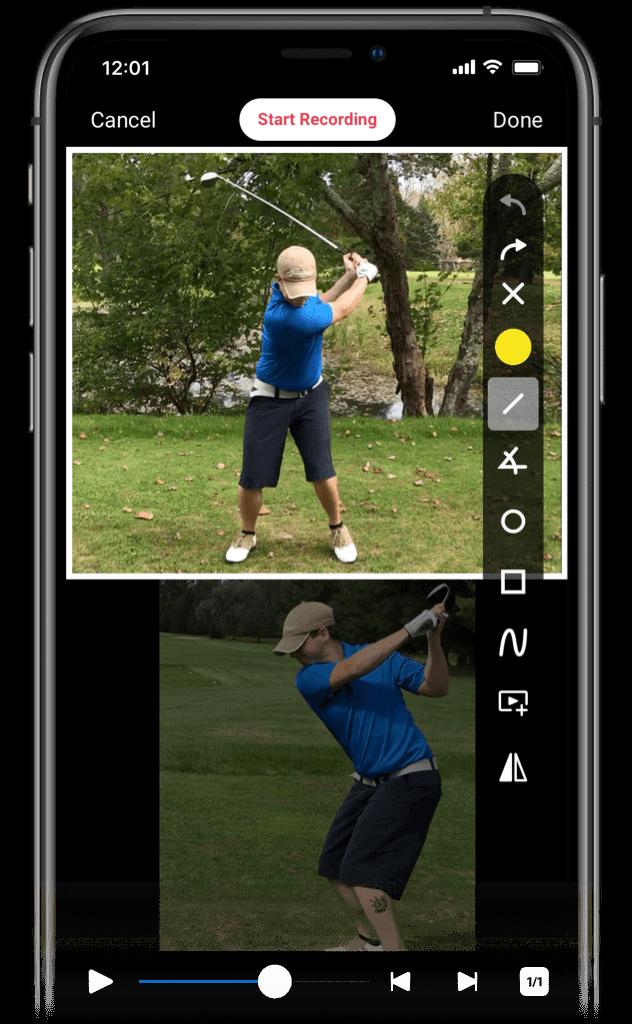 SwingU Academies - Coach App - Live Swing Analysis